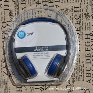 沃尔玛原装头戴耳机HIFI立体声头戴折叠适用苹果 耳机